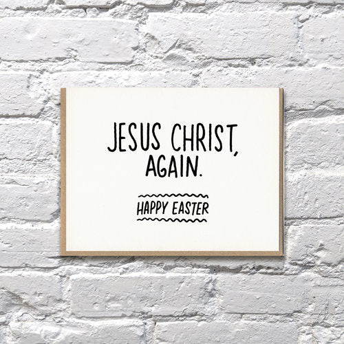 Jesus Christ Easter Card