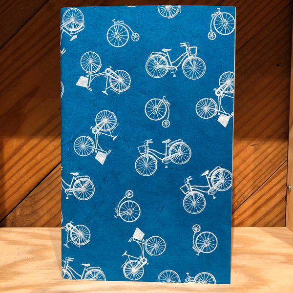Handmade Journal - Bicycles