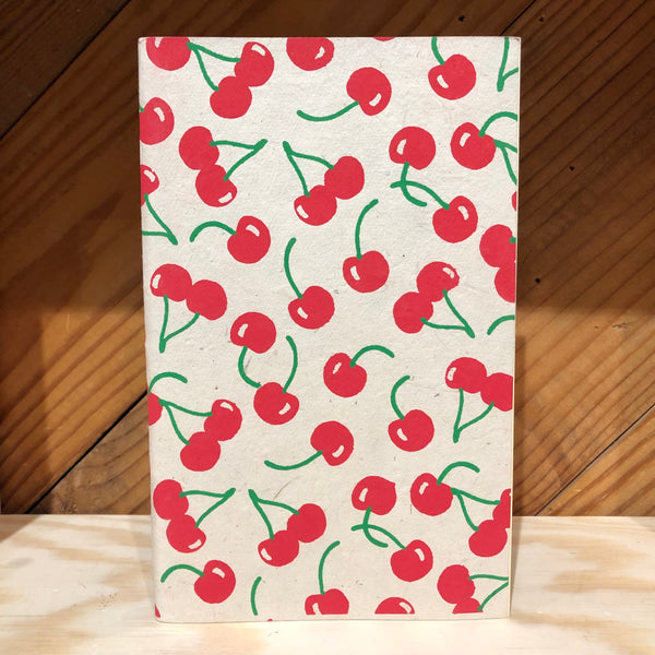 Handmade Journal - Cherries