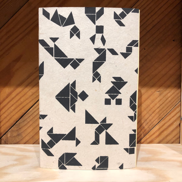 Handmade Journal - Geometric Print