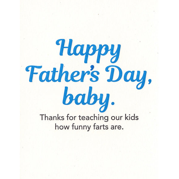 Farts Father's Day Card