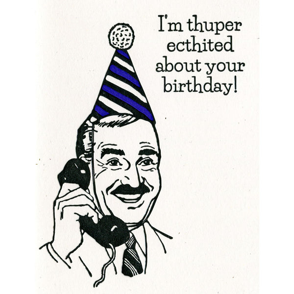 Thuper Birthday Card