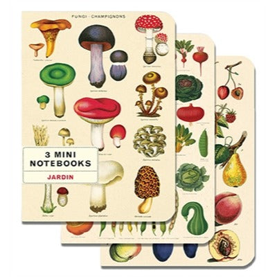 Mini Notebooks - Le Jardin