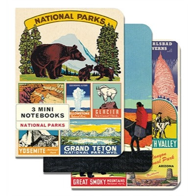 Mini Notebooks - National Parks
