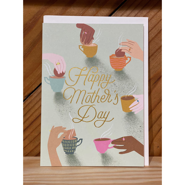 Teacups and Hands Card