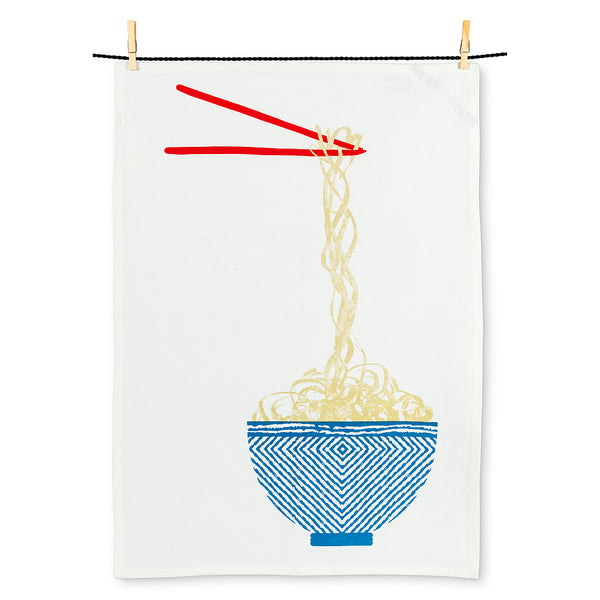 Noodle Bowl Tea Towel