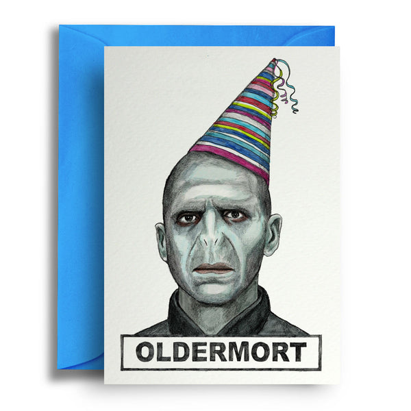Oldermort Card