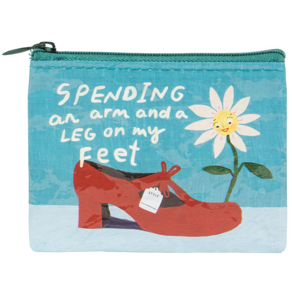 Spending an Arm & A Leg Coin Purse