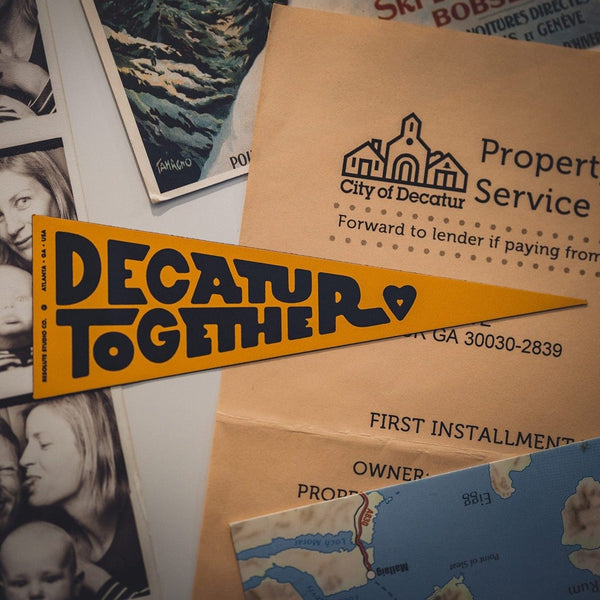 Decatur Together Pennant Magnet