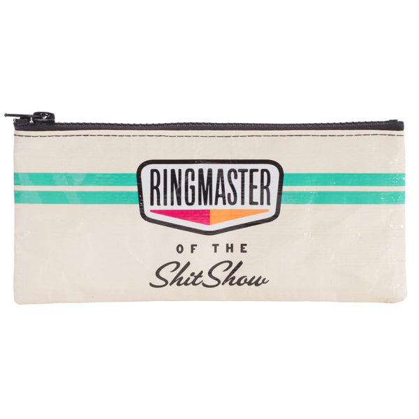 Ringmaster of the Shitshow Pencil Pouch