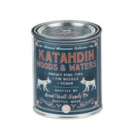 Katahdin Woods & Waters Candle - Snowy Pine Tips Fir & Cedar