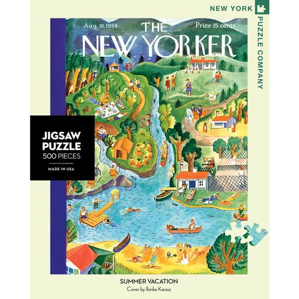 Summer Vacation Puzzle