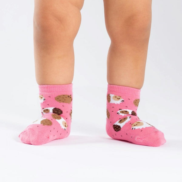 Guinea Pig Toddler Crew Socks