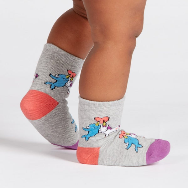 Great Horns Think Alike Toddler Crew Socks