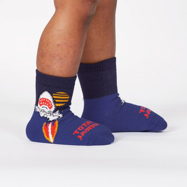 Totally Jawsome! Toddler Crew Socks