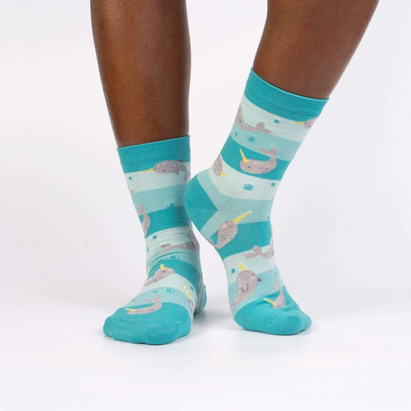 Unicorn of the Sea Women's Crew Socks