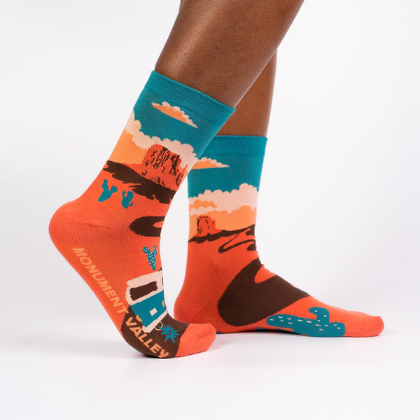 Monument Valley Women's Crew Socks