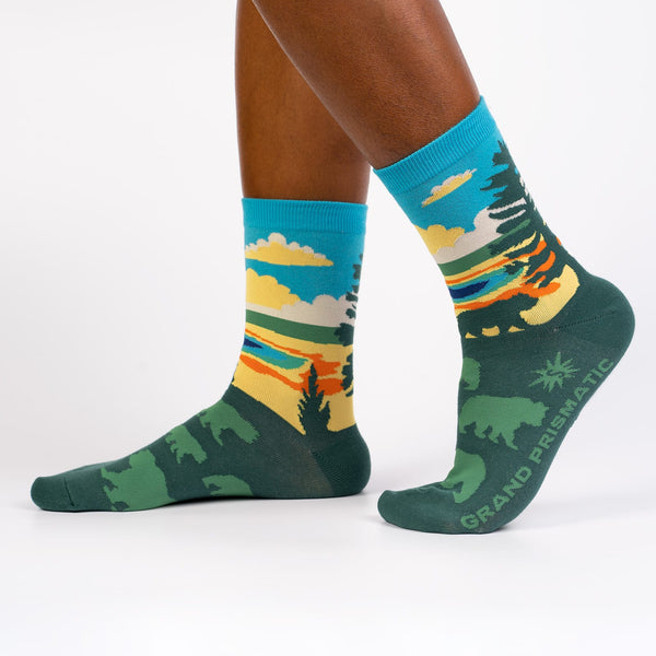 Grand Prismatic Women's Crew Socks