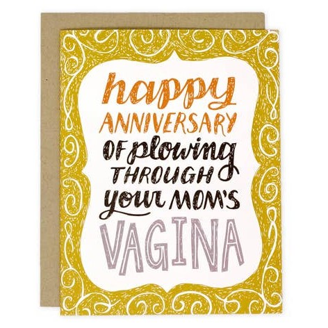 Your Mom's Vagina Card