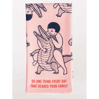 Scare Your Family Dish Towel