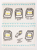 BQ Hot Buns Dish Towel