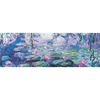 Waterlilies Panoramic Puzzle