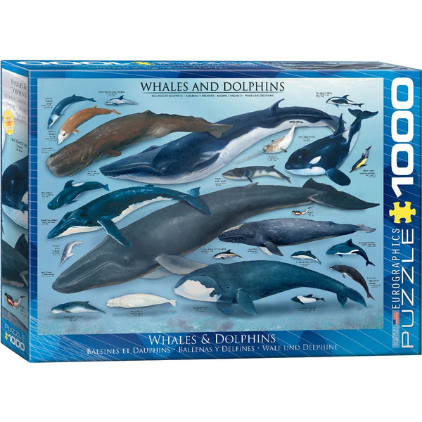 Whales & Dolphins Puzzle