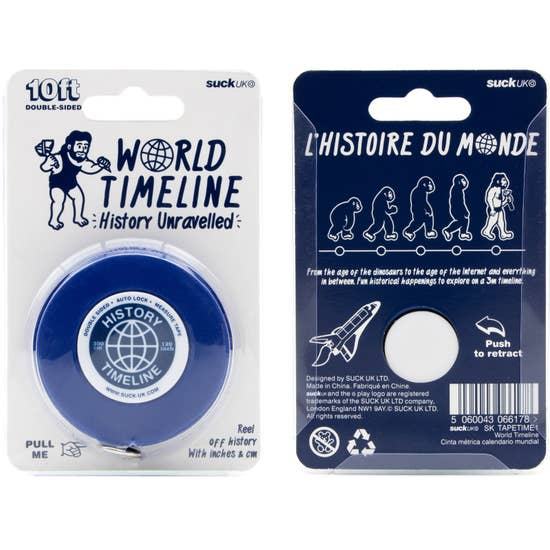 World Timeline Tape Measure
