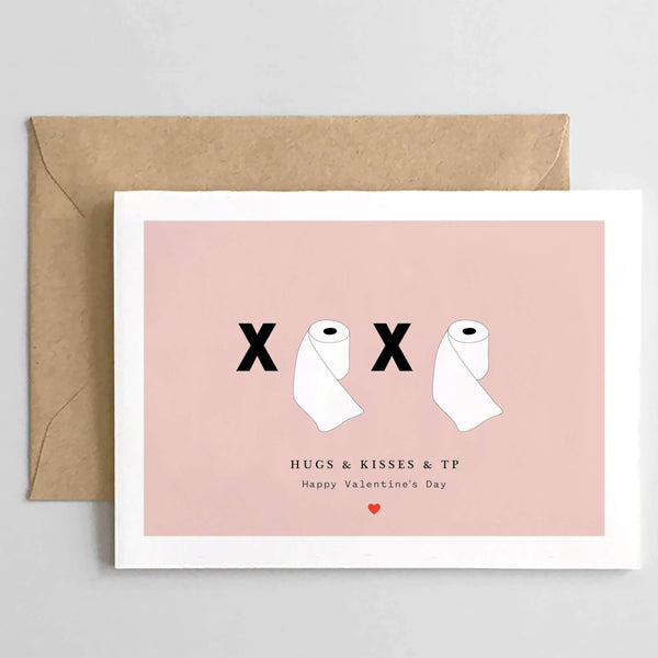 Hugs & Kisses & TP Card