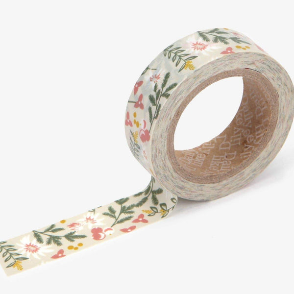 Kaya Flower Washi Tape