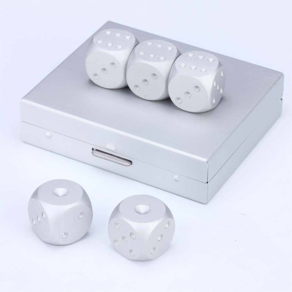 Stainless Dice Set