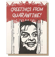 Greetings from Quarantine Card