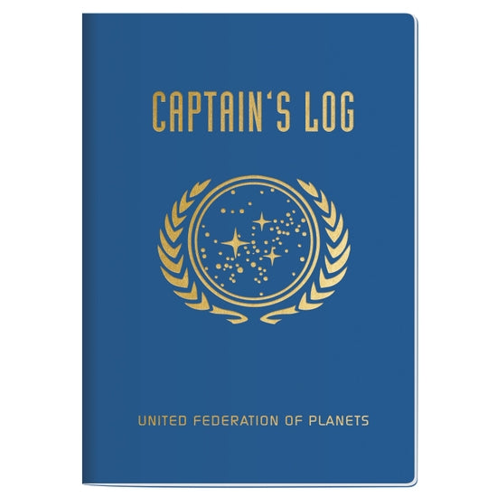 Captain's Log Notebook