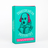 Shakespearean Profanities Cards