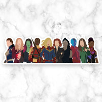 Women of Marvel Sticker