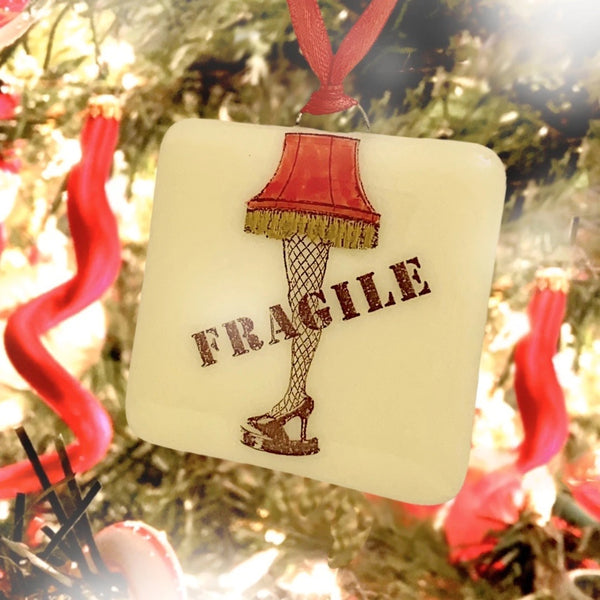 Leg Lamp Glass Ornament