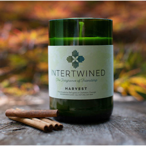 Intertwined Candle - Harvest