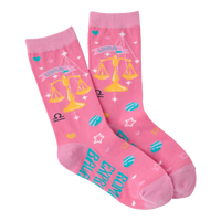 Libra Women's Crew Socks