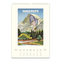 National Parks Wall Calendar