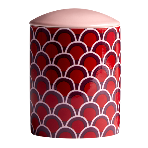 Ruby Small Ceramic Candle