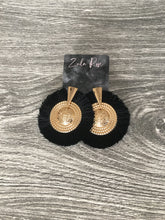 Load image into Gallery viewer, Empress Earrings - Black