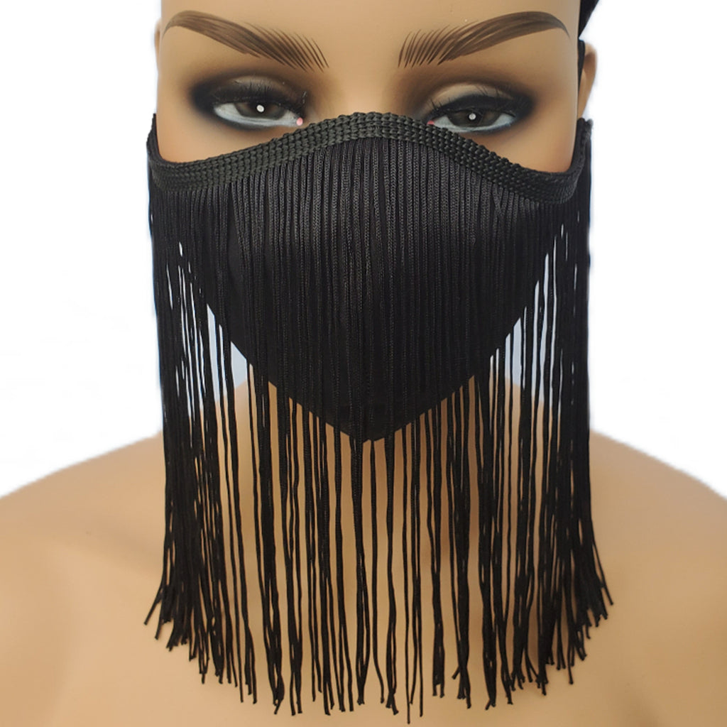 FACE MASK (Fitted) - Fringe Lover