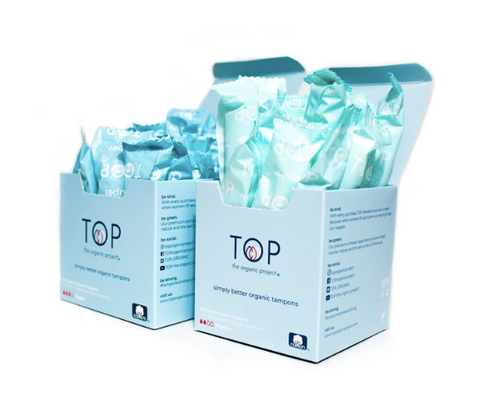 TOP the organic project - organic pads and tampons