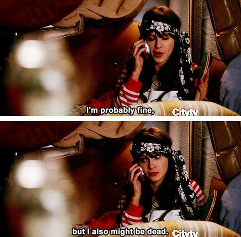 new girl - i might be dead