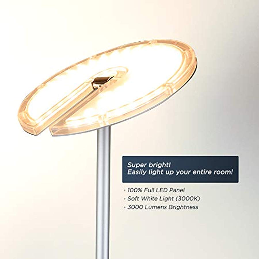 Ou2019bright Dimmable Led Torchiere Lámpara De Pie, 27... - TODOENCARGO.COM