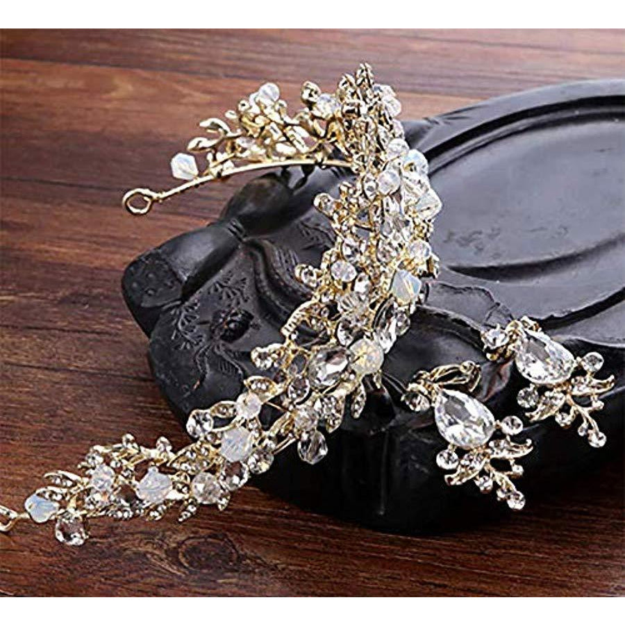 Crown Crystal Rhinestone Mujer Tiara Prom Party Jewel... - TODOENCARGO.COM