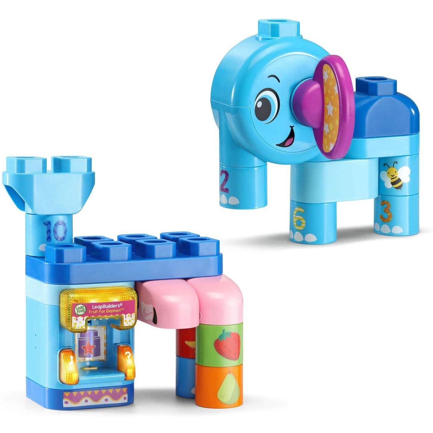 Leapbuilders Fruit Fun Elephant
