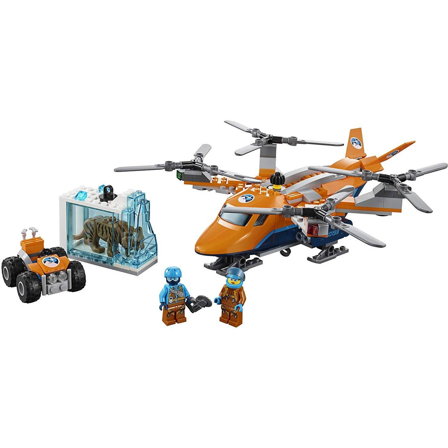 Kit De Construcción City Arctic Air Transport 60193 ... - TODOENCARGO.COM