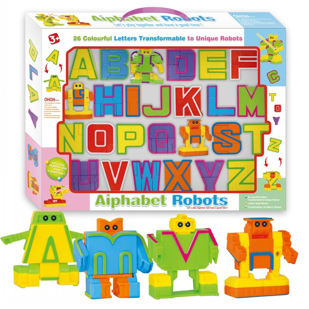 Alphabet Robot Toy For Kids Abc Learning Education Pr... - TODOENCARGO.COM