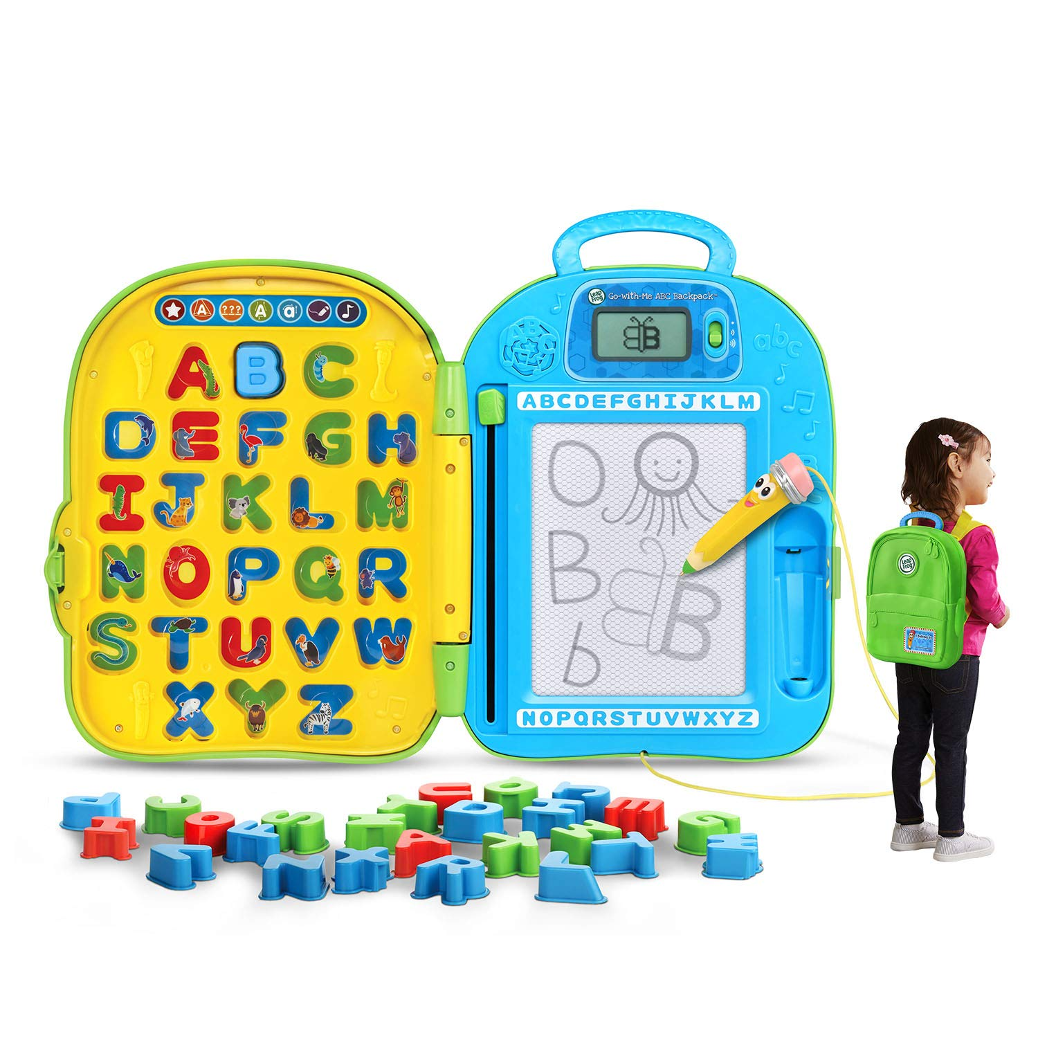 Go-with-me Abc Backpack (Embalaje Gratuito De Frustra...